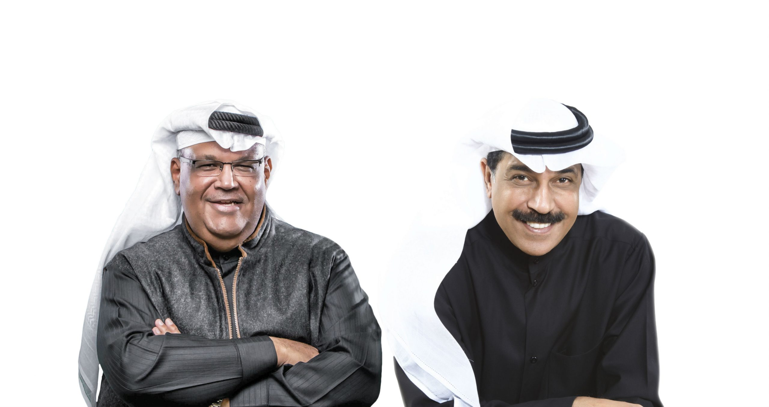 Legendary Kuwaiti singers Abdallah Al Rowaished and Nabil Shuail to give an unforgettable performance at Bahrain Bay