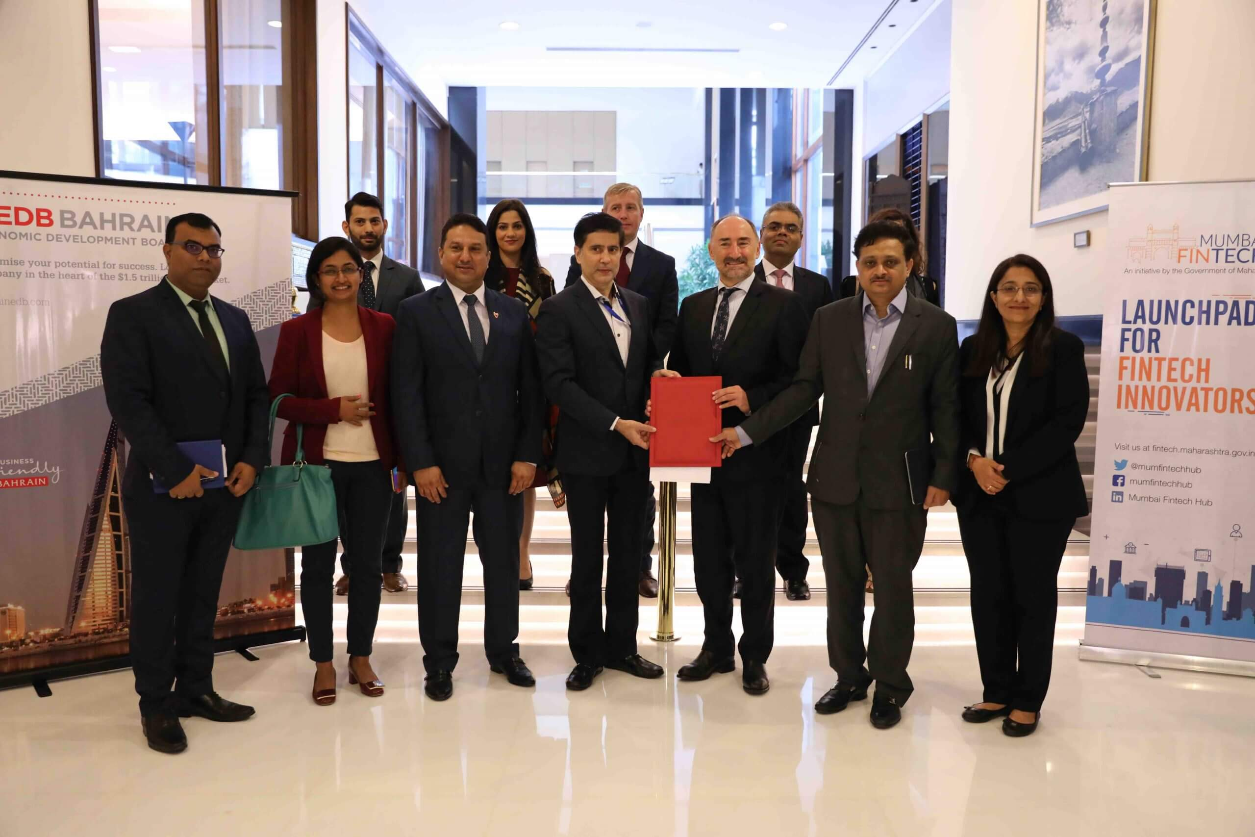 Bahrain Economic Development Board Signs MoU with Maharashtra Government to cooperate in FinTech