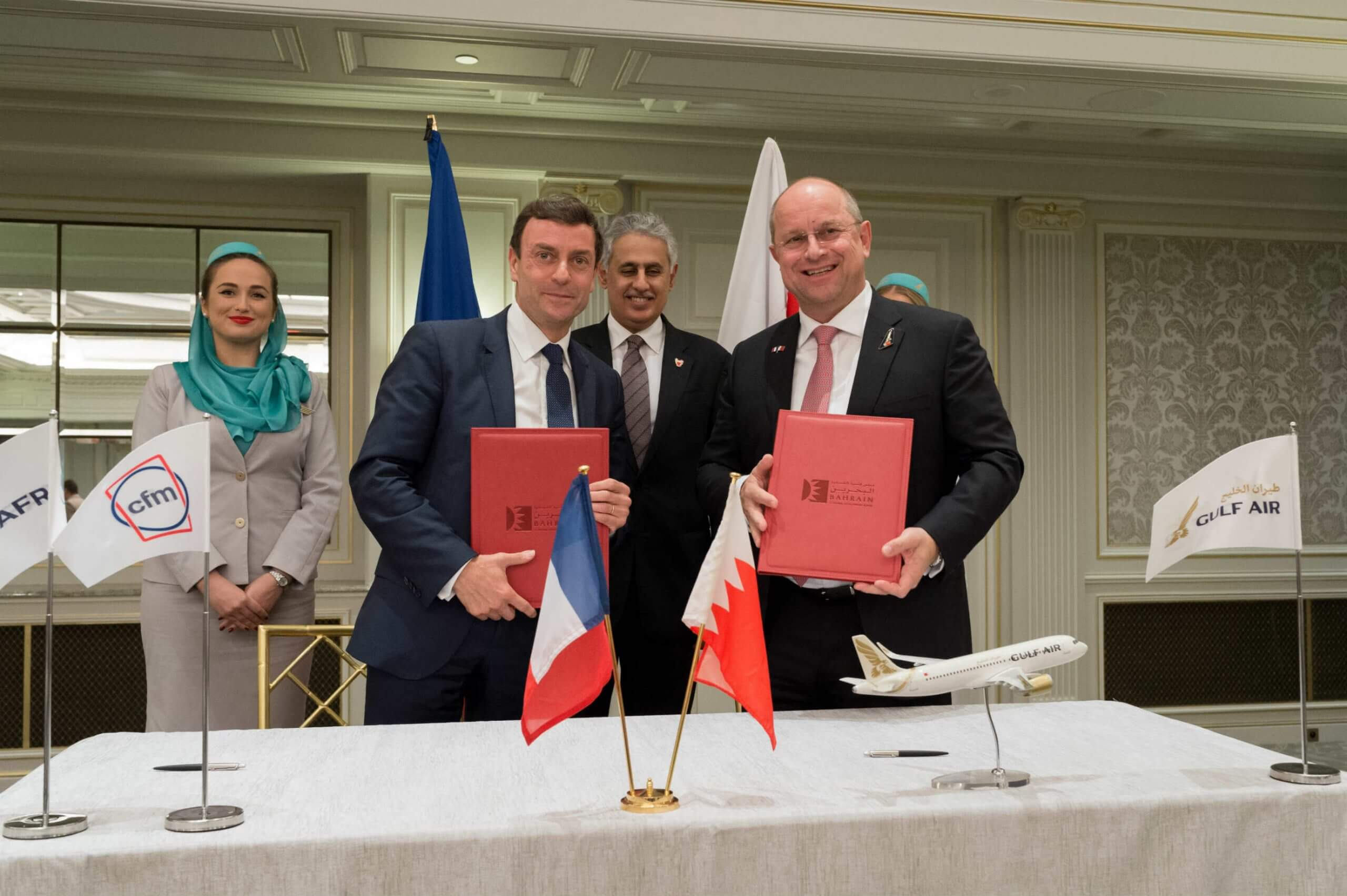 Bahraini Business Delegation Signs $2 Billion Worth of Agreements with French Companies
