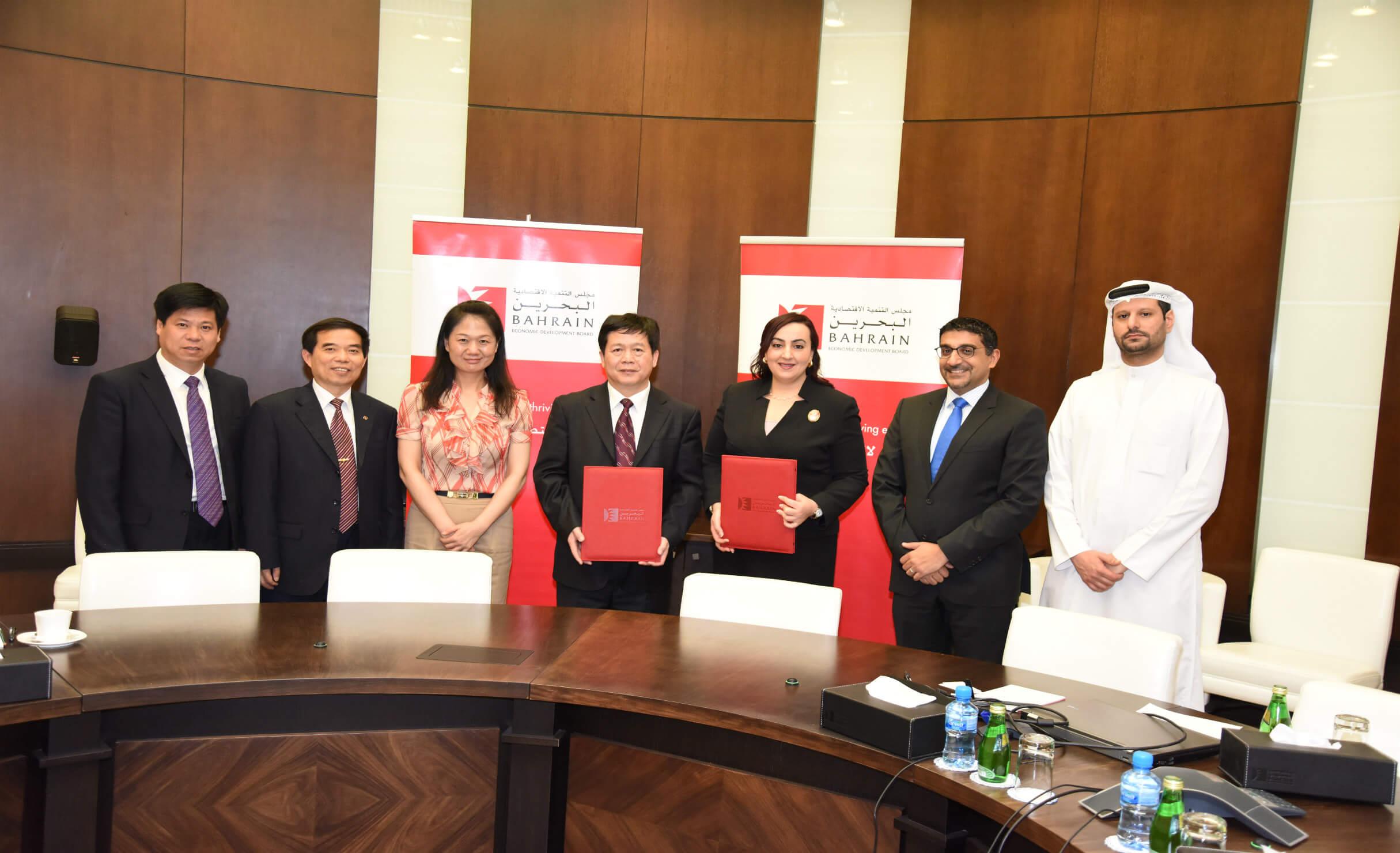 One Hundred Chinese Business Delegates Visit Bahrain