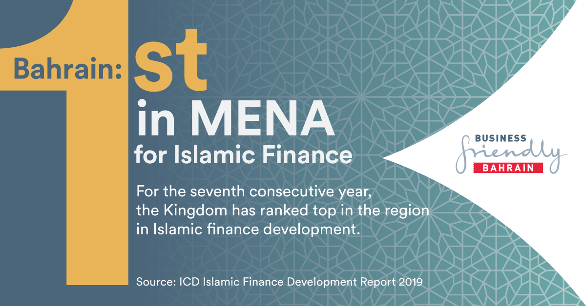 Bahrain ranked first in MENA by Islamic Finance Development Indicator for seventh consecutive year