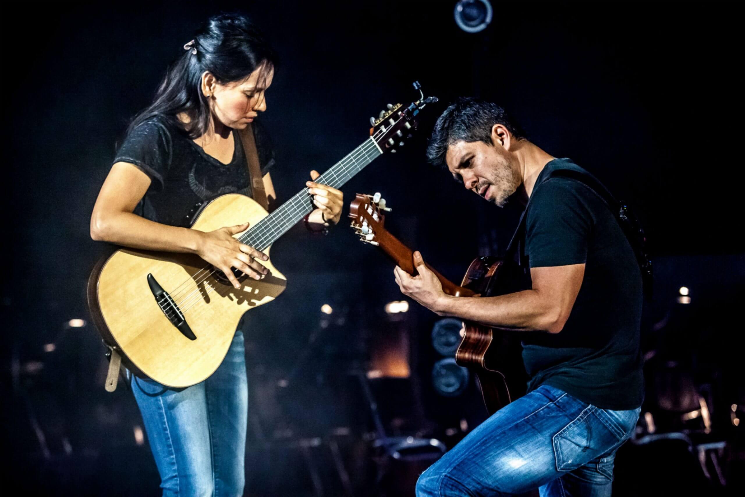 Mexican Duet Rodrigo Y Gabriela bring their guitar tunes to Arad Fort