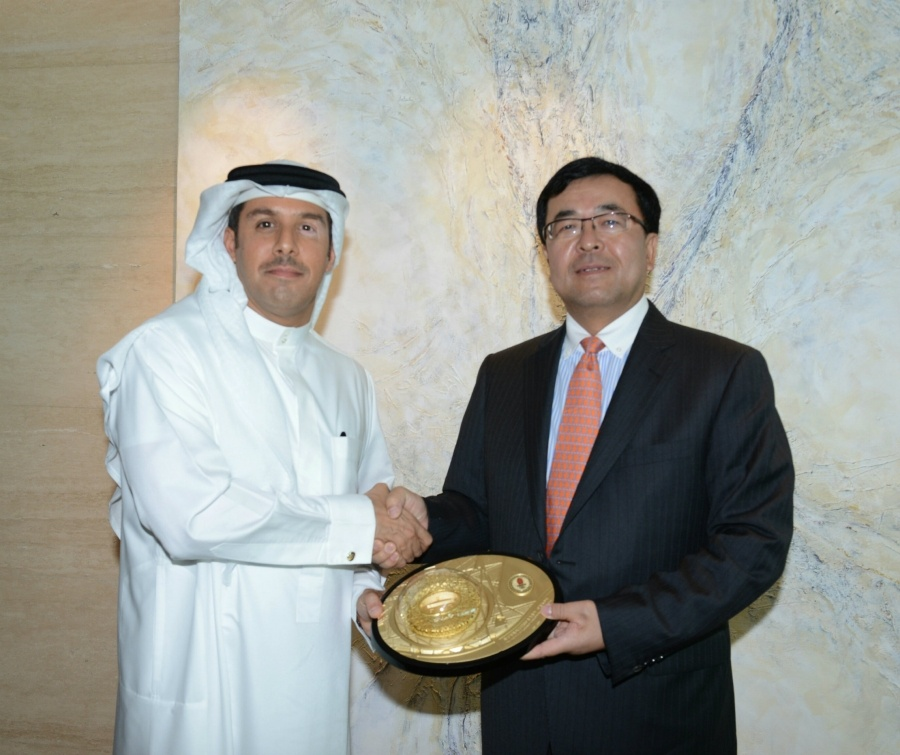 CITIC Group Delegation Meets With EDB Chief Executive