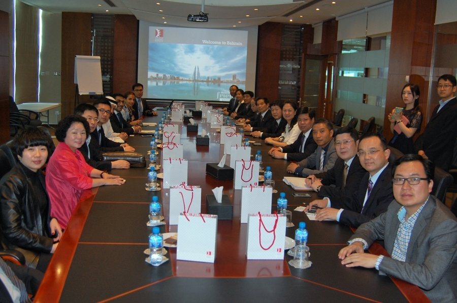 Chinese Businessmen from Hunan Province Begin visit to Bahrain