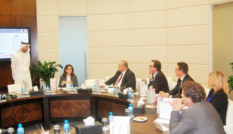 EDB Officials Brief Delegation on Opportunities in the Kingdom
